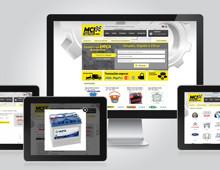 Website MCI Auto Parts