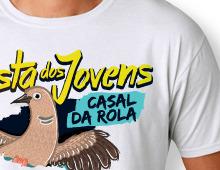 T-shirts Jovens Casal da Rola
